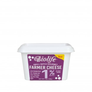 Farmer Cheese Biolife 1% milkfat